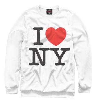 Одежда с принтом I Love New York