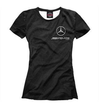 Футболка женская Mercedes AMG