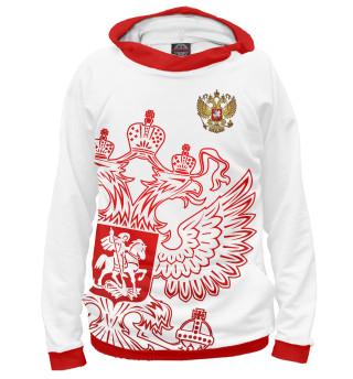 Худи женское Россия (8543)