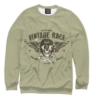 Одежда с принтом Vintage Race