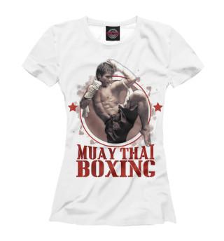 Футболка женская Muay Thai Boxing (7512)