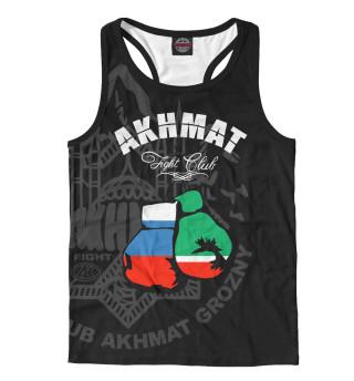Майка борцовка мужская Akhmat Fight Club
