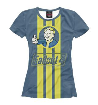Футболка женская Fallout 4 Vault Boy