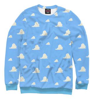 Одежда с принтом Облачки