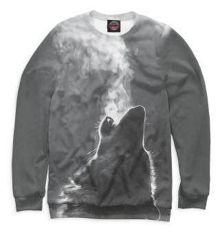 Одежда с принтом Волки