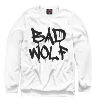 Одежда с принтом Bad Wolf