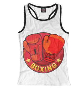 Майка борцовка женская Boxing (3370)
