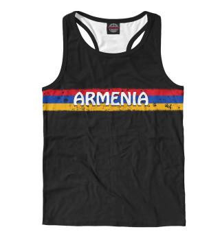 Майка борцовка мужская Флаг Армении