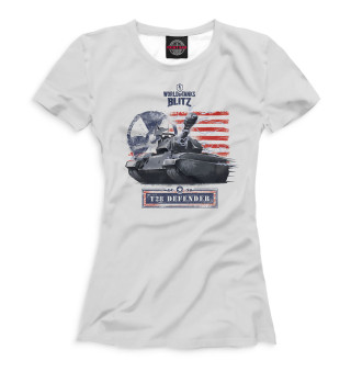 Футболка женская World of Tanks Blitz (7657)