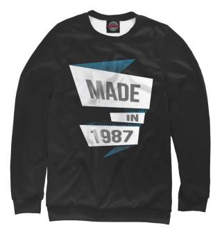 Одежда с принтом 1987 (240164)