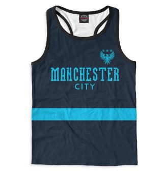 Майка борцовка мужская Manchester City (9064)