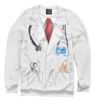 Одежда с принтом Доктор № 1