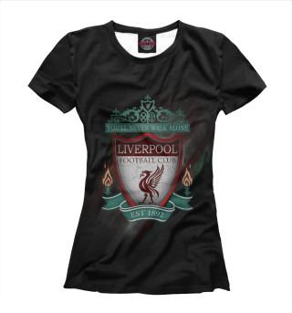 Футболка женская FC Liverpool