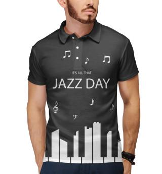 Поло мужское Jazz day (3314)