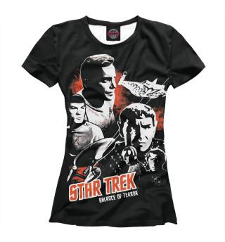 Футболка женская Star Trek (4614)
