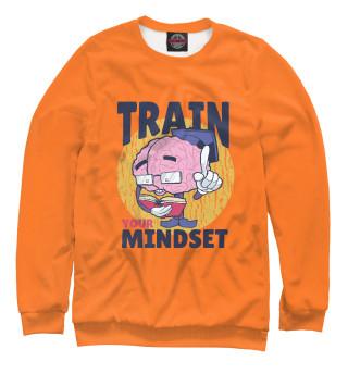 Одежда с принтом Тренируй мышление