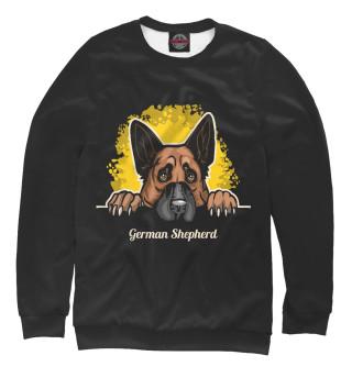 Одежда с принтом Немецкая овчарка (837789)