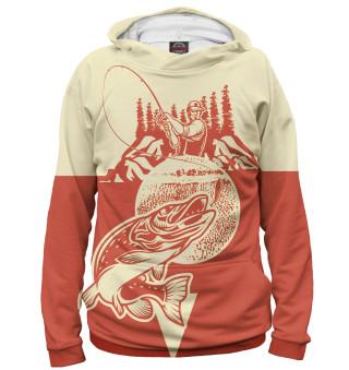 Худи женское Рыбалка (6615)