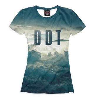 Футболка женская DDT (9696)