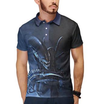 Поло мужское Aliens