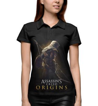 Поло женское Assassin's Creed Origins (8978)