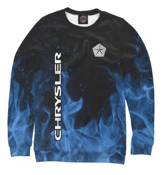 Одежда с принтом Chrysler blue fire