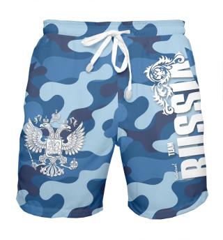 Шорты мужские Team Russia (4526)