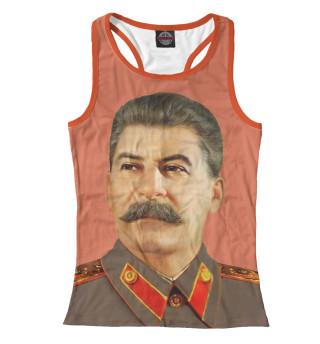 Майка борцовка женская Сталин