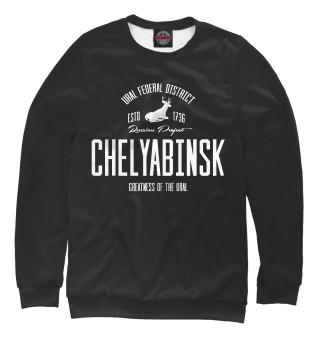 Одежда с принтом Челябинск Iron