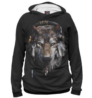Худи женское Волки (9980)