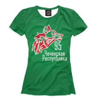 Футболка женская Чечня (7623)