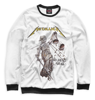 Одежда с принтом Metallica And Justice for All