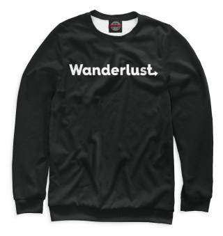 Одежда с принтом Wanderlust (206964)