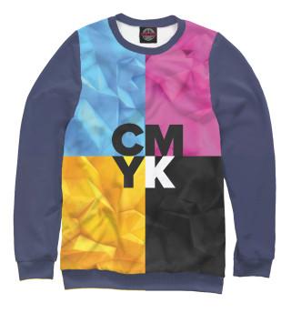 Одежда с принтом CMYK
