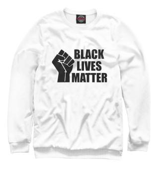 Одежда с принтом Black lives matter
