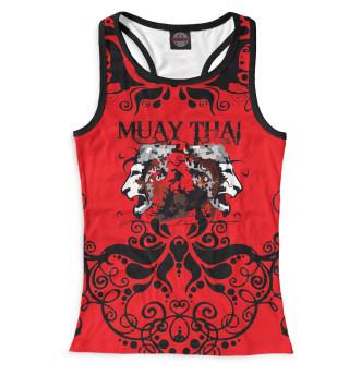 Майка борцовка женская Muay Thai (3546)