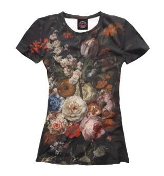 Футболка женская Цветы (522)