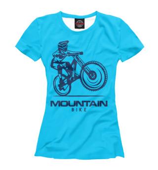 Футболка женская Велосипед (6449)