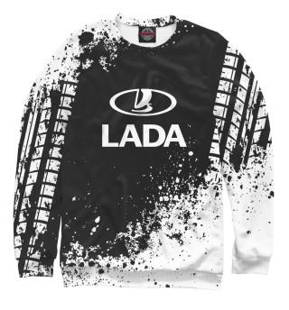 Одежда с принтом Lada (518279)