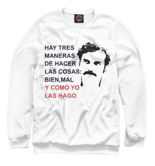 Одежда с принтом Escobar (609365)