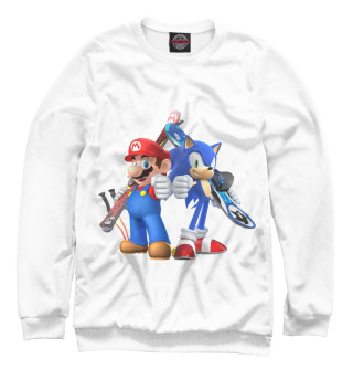 Одежда с принтом Mario and Sonic