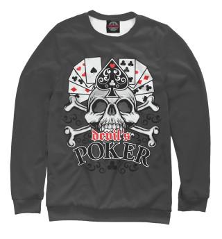 Одежда с принтом Poker