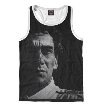 Майка борцовка мужская Ayrton Senna
