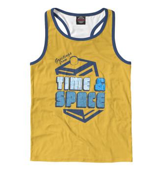 Майка борцовка мужская Time & Space