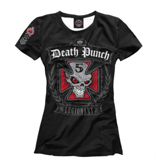 Футболка женская Five Finger Death Punch (219)