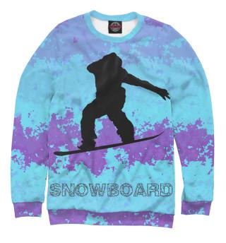 Одежда с принтом Snowman