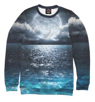 Одежда с принтом Лунная ночь