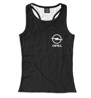 Майка борцовка женская Opel (9178)