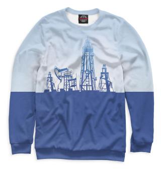 Одежда с принтом Нефтедобыча (827322)