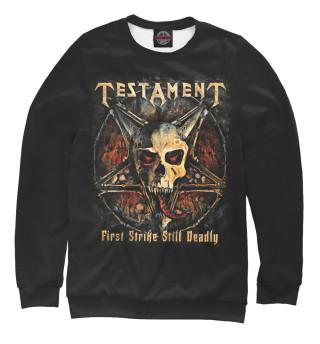 Одежда с принтом Testament (999619)